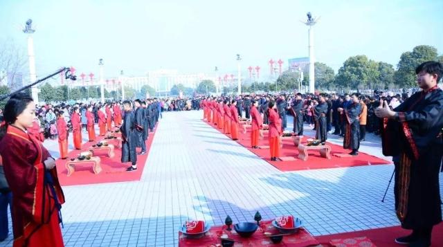 [郸城]举办集体婚礼倡文明新风