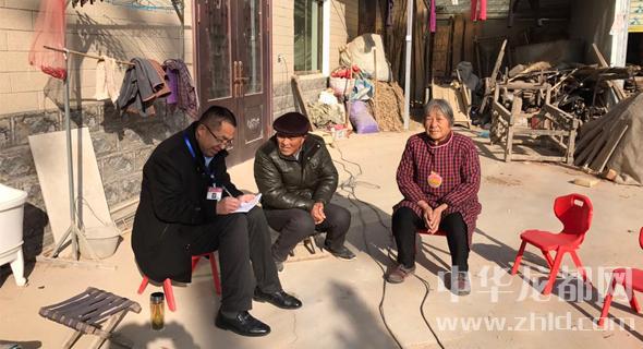 沈丘北杨集:入户宣传助脱贫