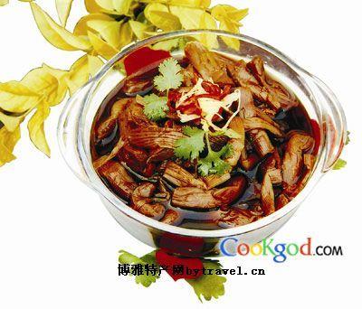 淮阳酱蒲菜