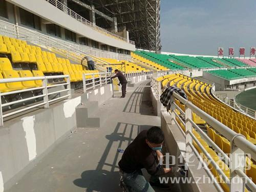省运会场馆建设扫描之周口市体育中心体育场
