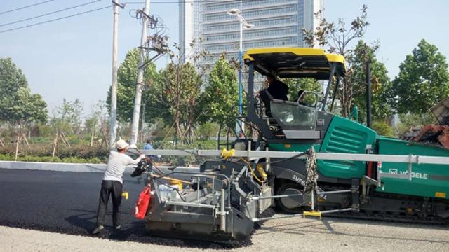 周口中心城区文昌大道东延提升改造工程紧张有序施工