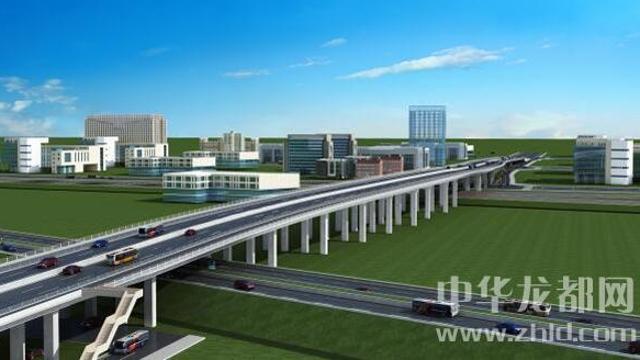 周口:首座高架桥建设鏖战正酣