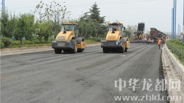 周口文昌大道综合提升改造工程预计八月中旬实现双向通车