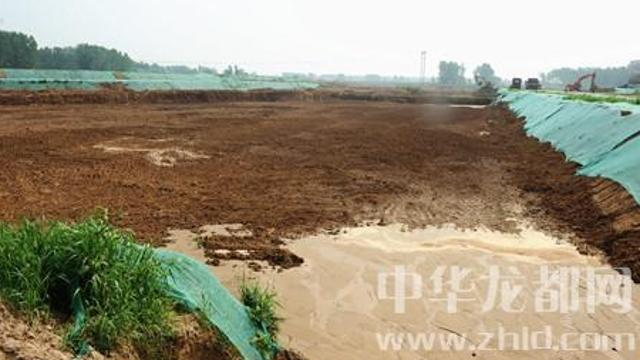 周口引黄调蓄工程预计8月底前形成千亩蓄水湖面