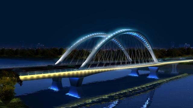 周口市中心城区14座高颜值桥梁开建