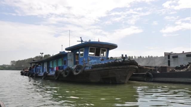 万吨拖船浩荡而来,商水港时隔半个世纪又通航