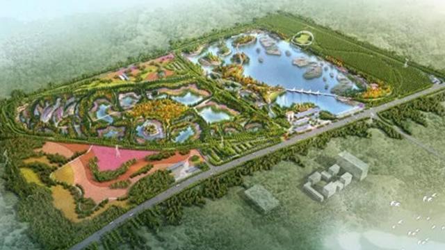 周口中心城区首个高标准湿地公园开建!这一组效果图震撼你了吗?