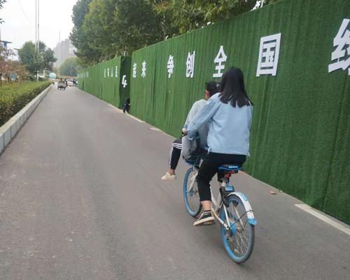 """周口:向不文明使用共享单车现象说""""不"""""""
