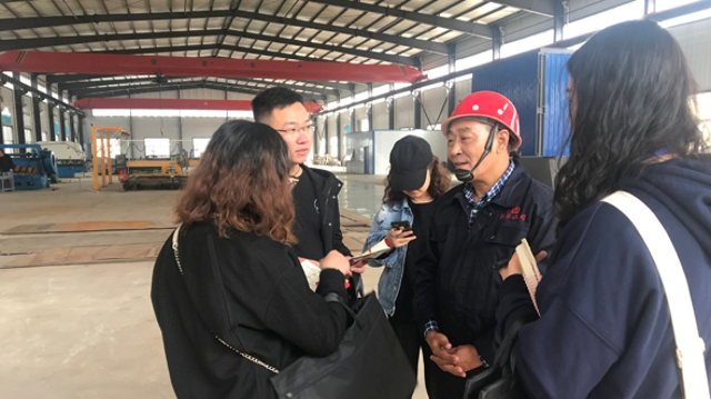"""河南省""""中国梦·大国工匠篇""""大型主题宣传活动媒体采访团走进周口市"""