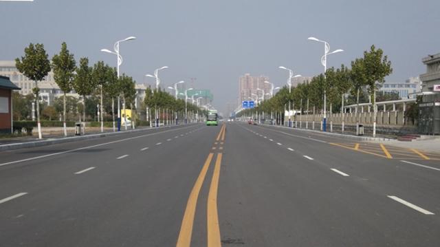 周口:提升路网通行能力 塑造城市整体形象