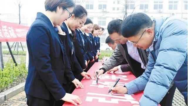 郸城县开展国家宪法日系列宣传活动
