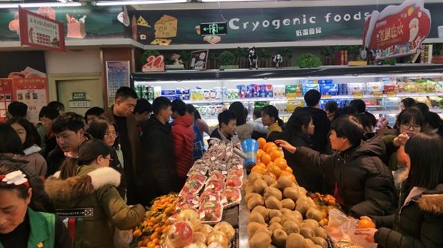 春节期间市区各大商场超市营业时间有调整