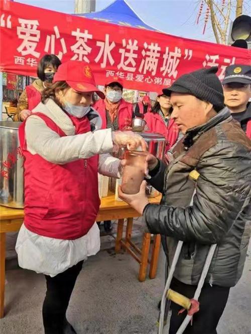 bob体育:西华:奉献最美 茶香满城