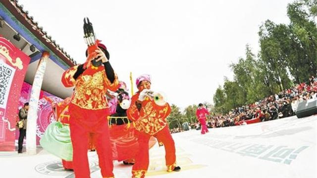 淮阳太昊陵庙会上演传统盛宴