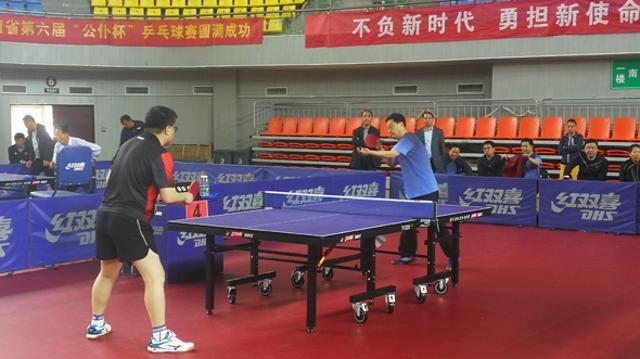 """河南省第六届""""公仆杯""""乒乓球比赛拉开战幕 我市荣获优胜奖"""