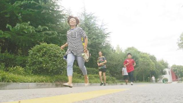 孩子暑假爱健身