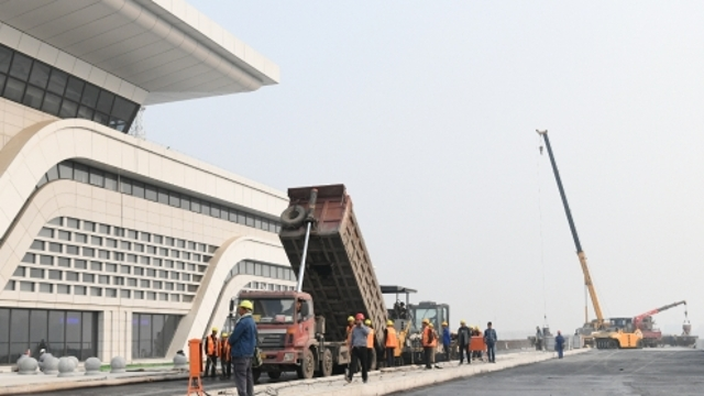 周口东站配套工程建设进入冲刺阶段
