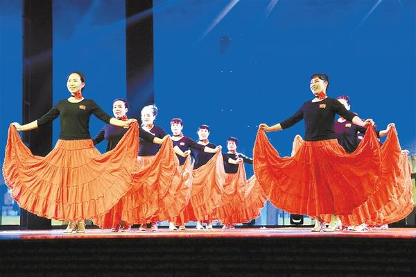 周口市城乡一体化示范区文昌办事处举办首届广场舞大赛