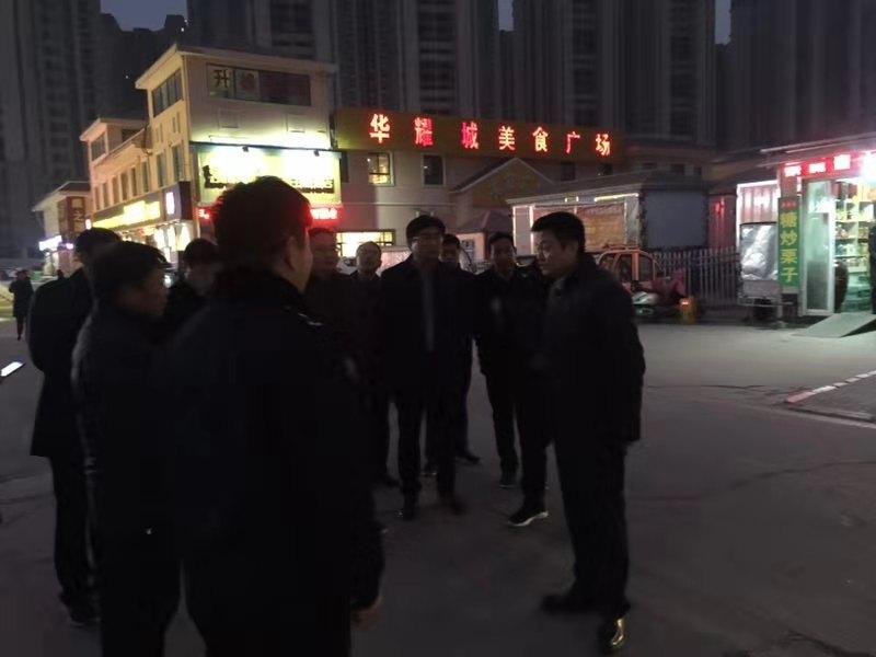 [川汇区]区长李湛督导创卫工作