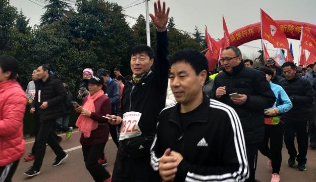 周口:千人长跑庆元旦