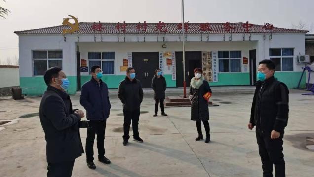 [商水]李本磊到林村看望居家隔离村民