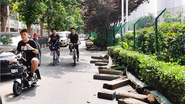 庆丰街街道升级改造
