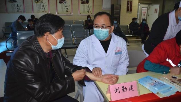 周口市中医院开展2020年中国心梗救治日义诊活动