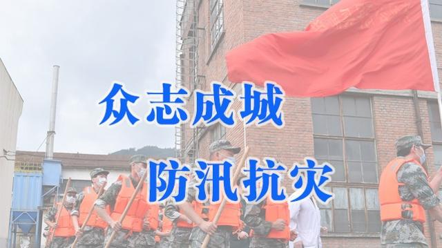 众志成城  防汛抗灾