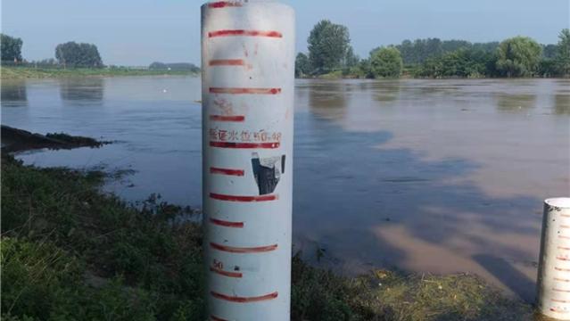 沙颍河商水段水位下落
