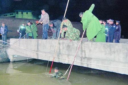 中广网河南分网消息   昨日零时40分许,在汝州市陆浑灌区高清图片