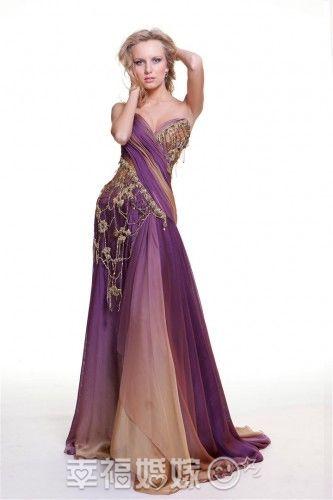 新娘都想要一件梦幻晚礼服