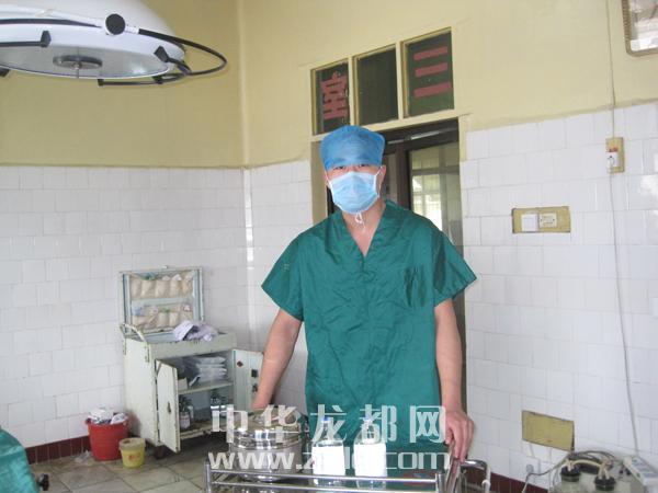 李红伟 周口市人民医院手术室护士 男 南丁格尔 在周口