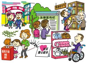 卫生城市儿童画