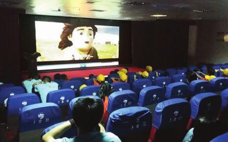 等13部不同类型的电影将在每天14时30分免费放映,喜欢看电影的小朋友
