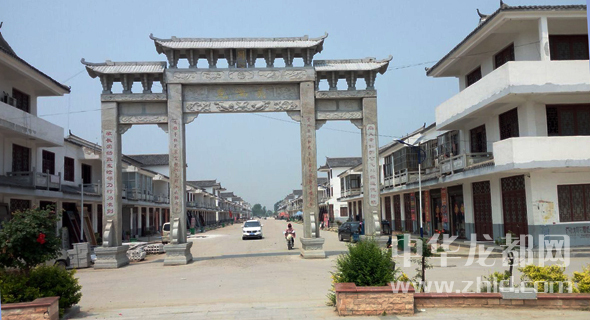 西华县红花镇龙池头行政村:城在园中 村在景中 人在画中