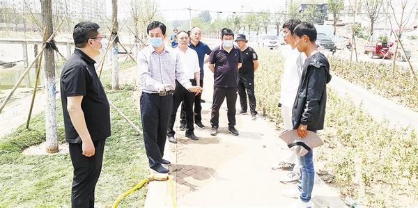 林鸿嘉调研督导部分重点项目建设时强调 打好绿色牌 做足生态西华文章