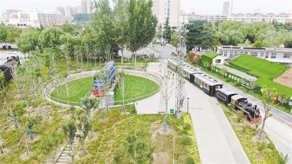 """咱家就在""""公园""""里——市中心城区生态园林扫描"""