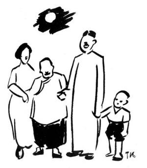 儿童手绘月饼图片