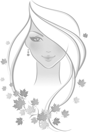 翡翠树叶手绘设计图