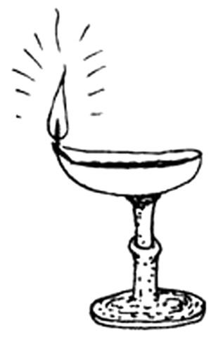 现代灯具手绘线稿